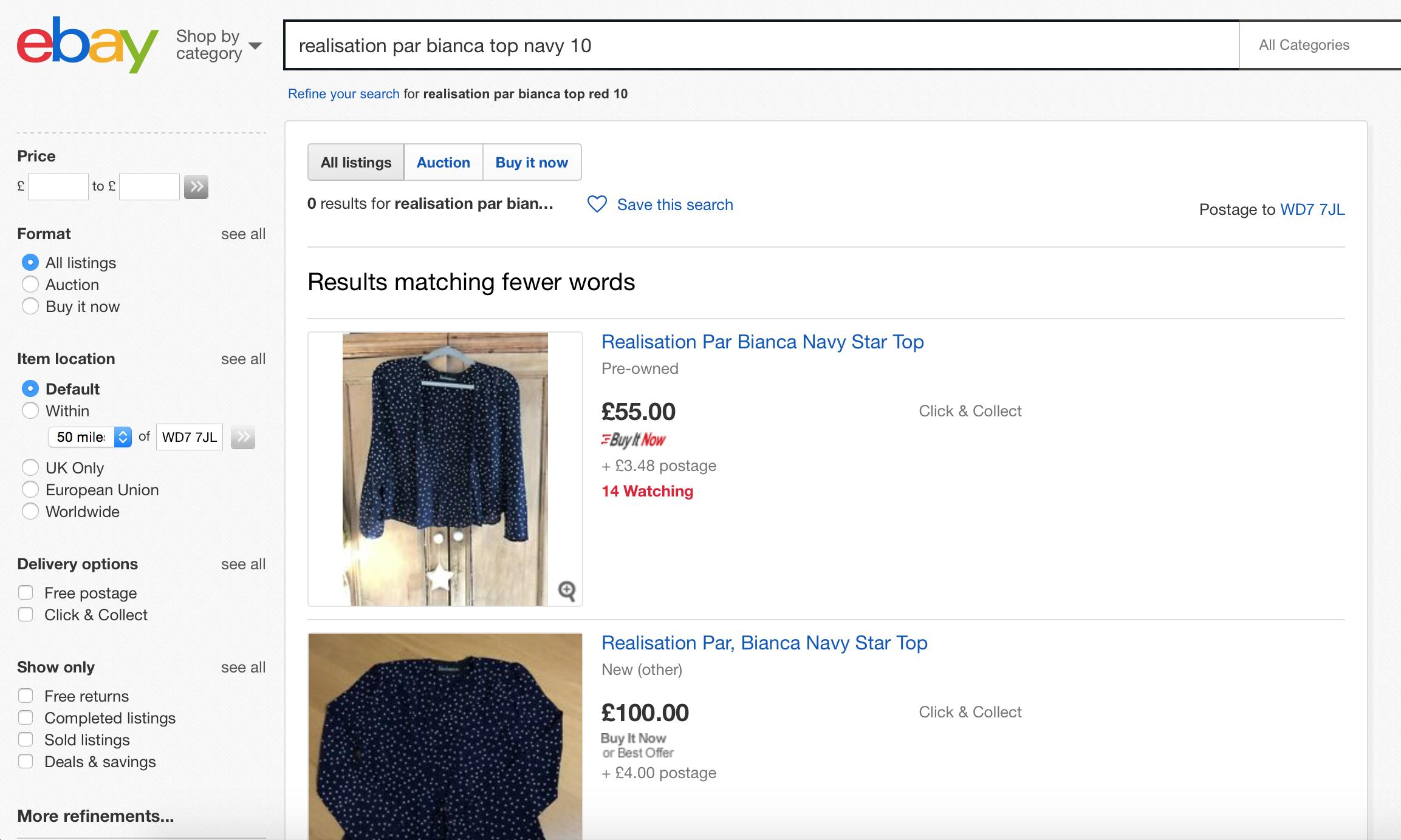 Shopping Secondhand On Ebay